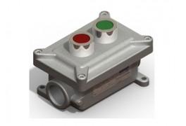 Cajas de pulsadores e indicadores luminosos